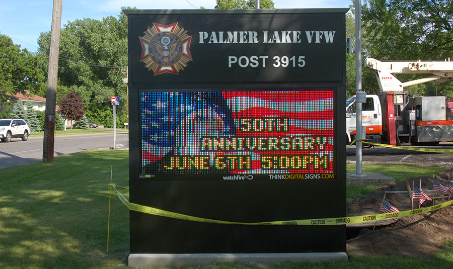 Digital VFW Signage