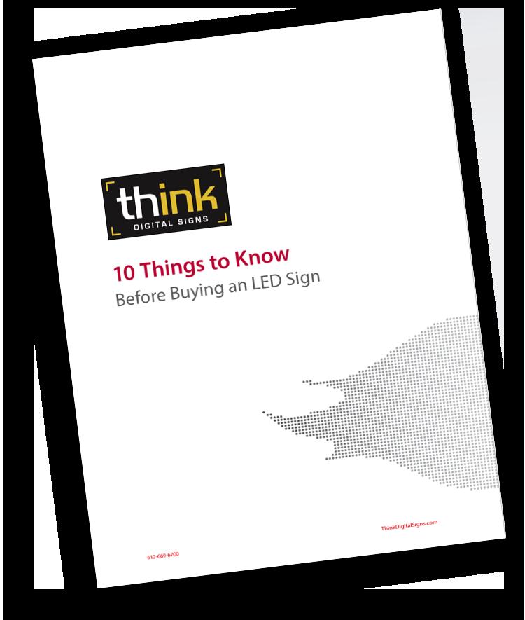 Digital Signage Solutions - Think Digital Signs
