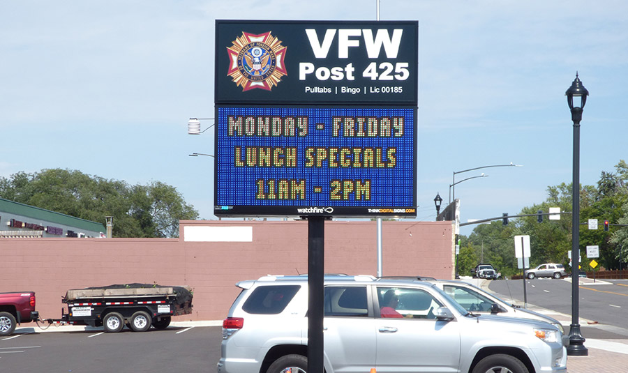 Legion/VFW Digital Signage