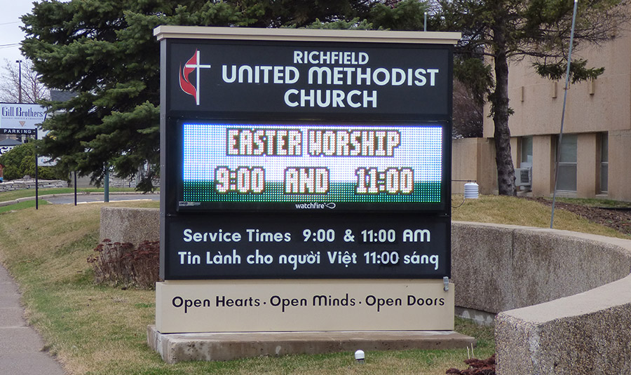 Digital Signs For Places Of Worship