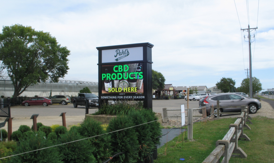 Pahl's Market Apple Valley EMC Display Sign