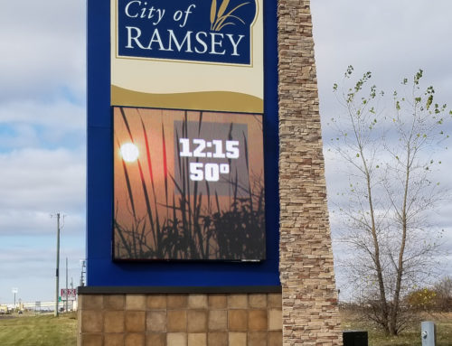 City of Ramsey Sign