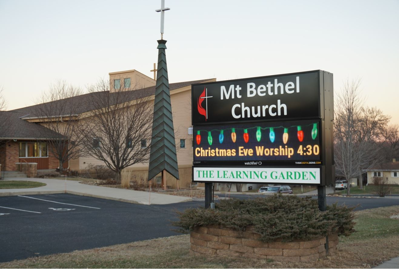 Mt Bethel Church Digital Ground Sign