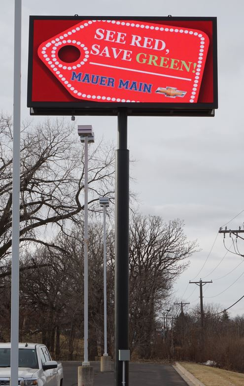 Maur Main Digital Display Sign